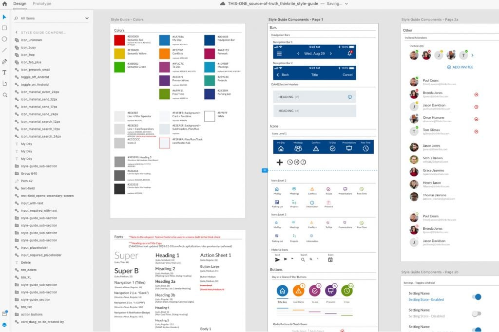 Design Systems Adobe XD 2019